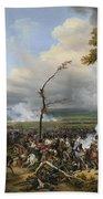 Jean Horace Vernet   The Battle Of Hanau Bath Towel