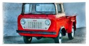 Jeep 1959 Fc150 Forward Control Pickup Bath Towel
