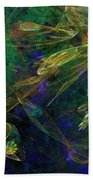 Jelly Fish  Diving The Reef Series 1 Hand Towel