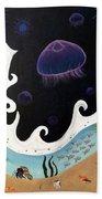 Jellyfish Jam Bath Towel