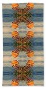 Jellyfish Pattern Bath Towel