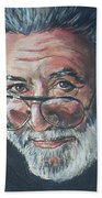 Jerry Garcia Bath Towel
