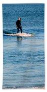 Jersey Shore Surfer Bath Towel