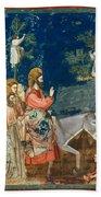 Jesus Entering Jerusalem Bath Towel