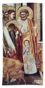 Jesus & Moneychanger Hand Towel