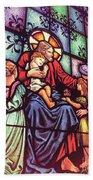 Jesus With The Children Bath Towel