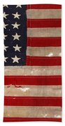 Jfk's Pt-109 Flag Bath Towel