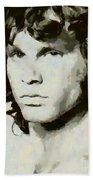 Jim Morrison Bath Towel
