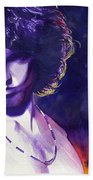 Jim Morrison Bath Towel