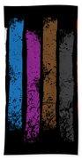 Jiu Jitsu Design United Belts Of Jiu Jitsu Vertical Light Martial Arts Bath Towel