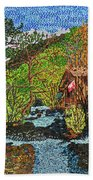 Jiuzhai Valley Hand Towel