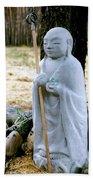 Jizo Bodhisattva - Children's Protector Bath Towel