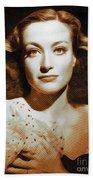 Joan Crawford, Hollywood Legends Bath Towel