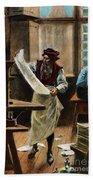 Johann Gutenberg Hand Towel