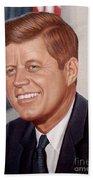 John F. Kennedy Hand Towel