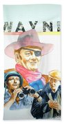John Wayne Bath Towel