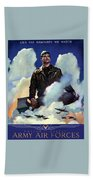 Join The Army Air Forces Bath Towel