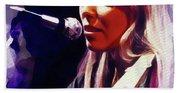 Joni Mitchell, Music Legend Bath Towel