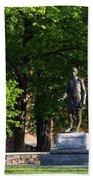 Joshua Lawrence Chamberlain Statue, Brunswick, Maine #0013 Hand Towel