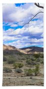 Joshua Tree National Park Landscape Bath Towel