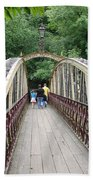 Jubilee Bridge - Matlock Bath Bath Towel