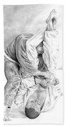 Jiu Jitsu Fundamentals The Armbar Bath Towel