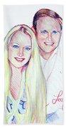 Jules And Tim Bath Towel