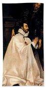 Julian Romero De Las Azanas And His Patron St Julian Bath Towel