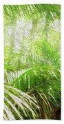 Jungle Abstract 1 Bath Towel