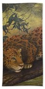 Jungle Cat Hand Towel
