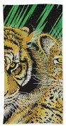 Jungle Cats Bath Towel