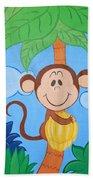 Jungle Monkey Bath Towel