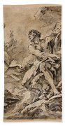 Juno Asking Aeolus To Release The Winds Bath Towel