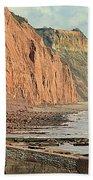 Jurassic Cliffs Bath Towel