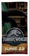 Jurassic World Fallen Kingdom 2.5 Bath Towel