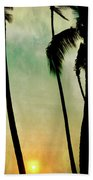 Just Before Sunset Bath Towel
