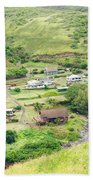 Kahakuloa Village Maui Hawaii Bath Towel