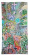 Kaleidoscope Fairies Too Bath Towel