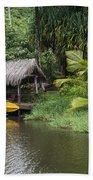 Kamokila Hawaiian Village - Kauai Bath Towel