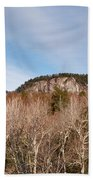 Kancamagus Highway - White Mountains New Hampshire - Rocky Cliff Bath Towel