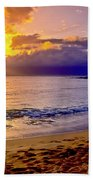 Kapalua Bay Sunset Bath Towel