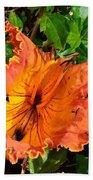 Kauai Hibiscus Bath Towel