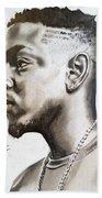 Kendrick Lamar Bath Towel