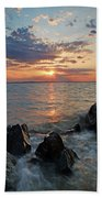 Kent Island Mother's Day Sunset Bath Towel
