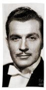 Kent Taylor, Vintage Actor Bath Towel
