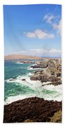 Kerry Cliffs Panoramic Bath Towel