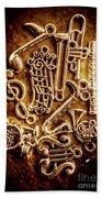 Keys Of A Symphonic Orchestra Bath Towel