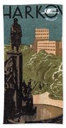 Kharkov, Ukraine, Soviet Union Bath Towel