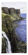 Kilt Rock On The Isle Of Skye Bath Towel