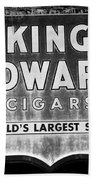 King Edward Cigars Bath Towel
